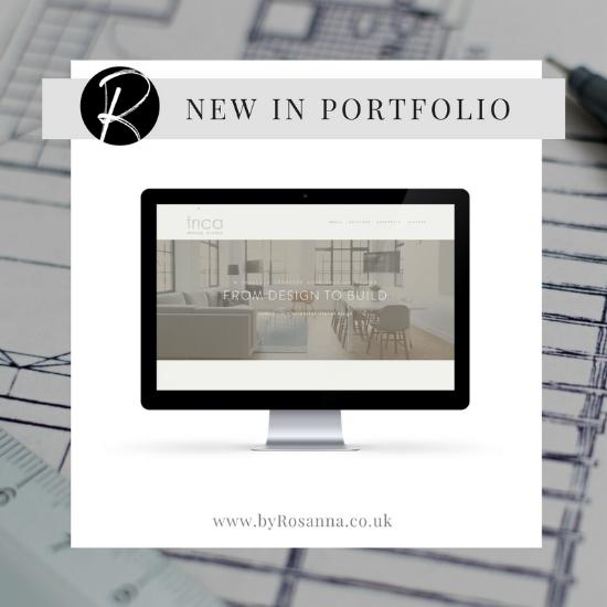 Interior Architecture Studio website design