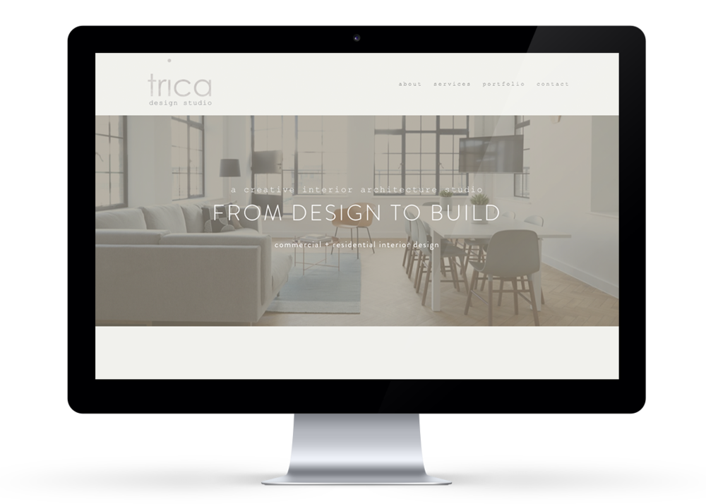 Website design with Squarespace | byRosanna