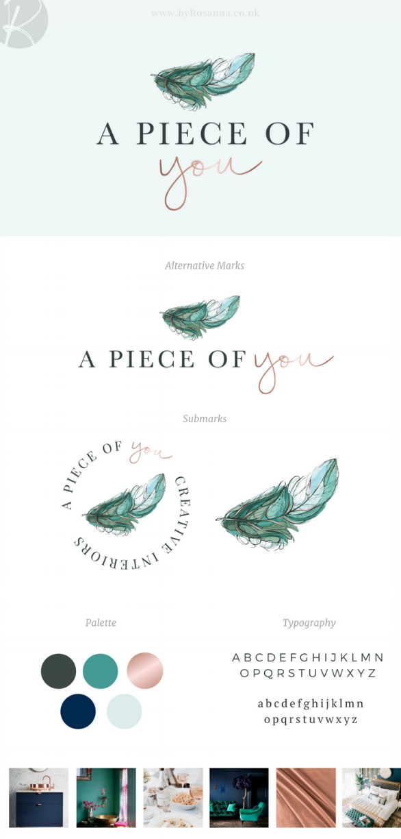 A Piece of You Branding | byRosanna