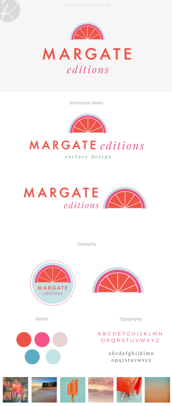 Margate Editions Brand Design | Branding byRosanna