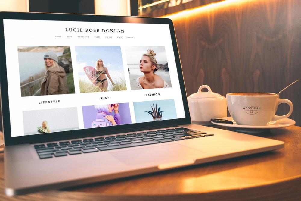 Lucie Rose Donlan website