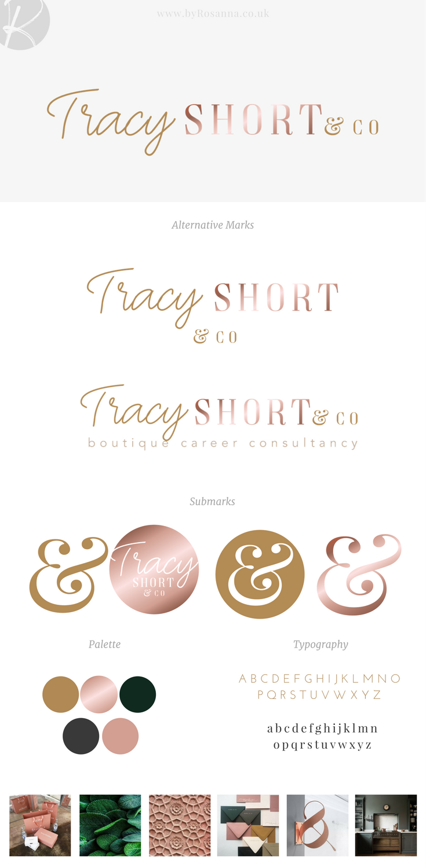 Tracy Short Branding