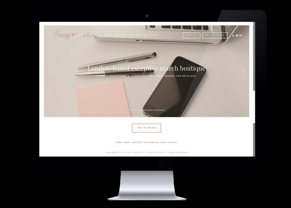 Tracy Short website