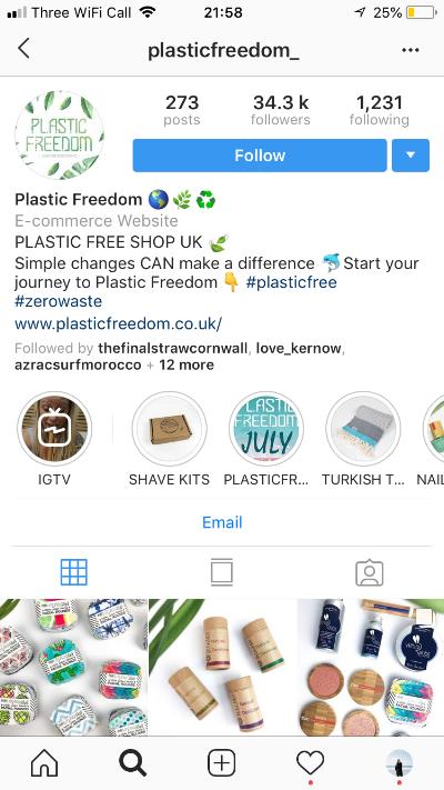 Perfect instagram bio