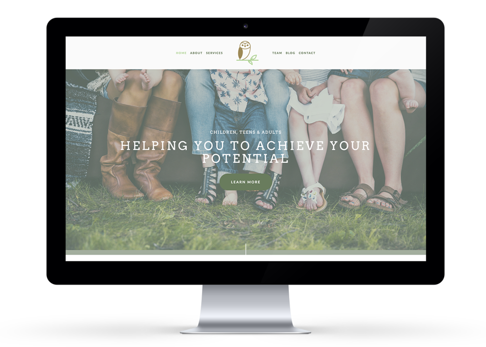 Website design with Squarespace