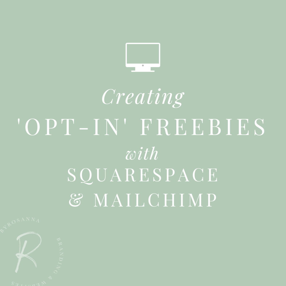 Connecting mailchimp with Squarespace