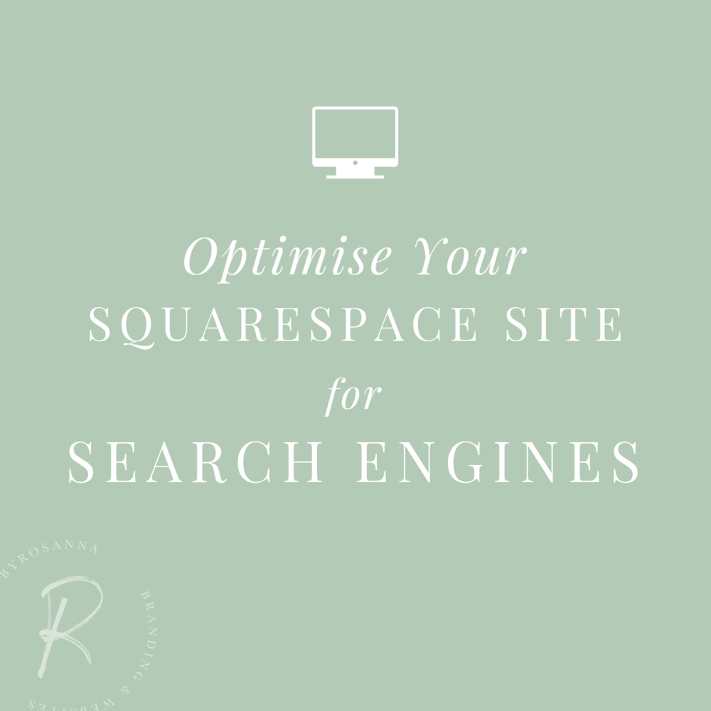 Optimise Your Squarespace website for search engines