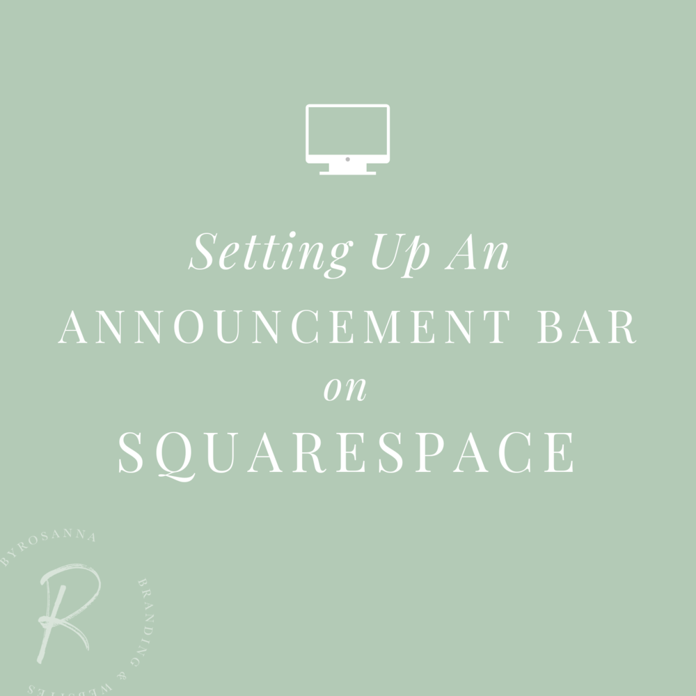 Announcement bar tutorial