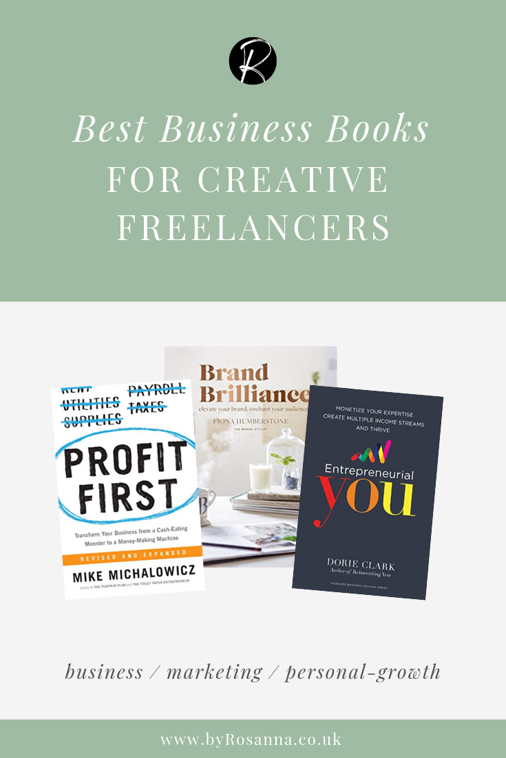 The Best Business and Personal-Growth Books for Creative Freelancers