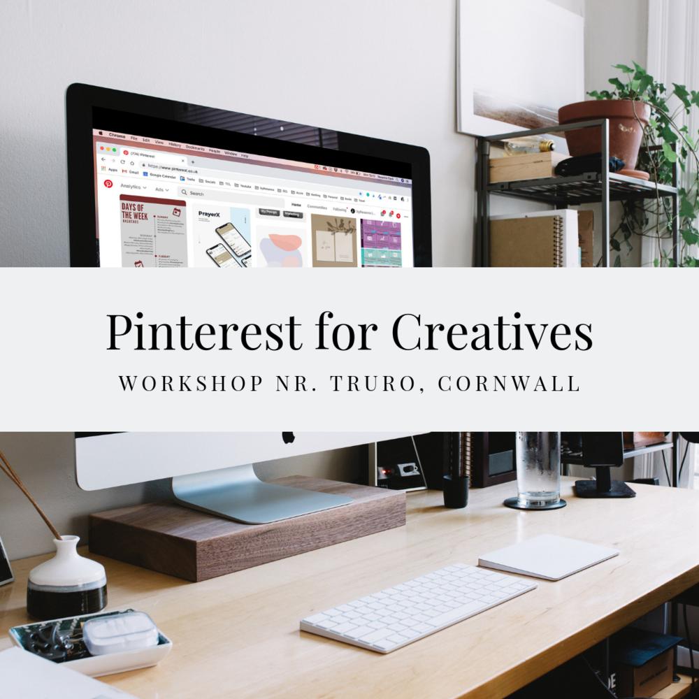 Pinterest for Creatives workshop