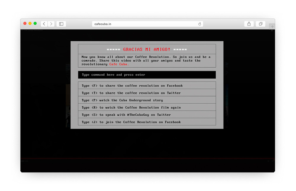 The UI is designed in a way where only a keyboard is required to navigate and interact with the MS-DOS website.
