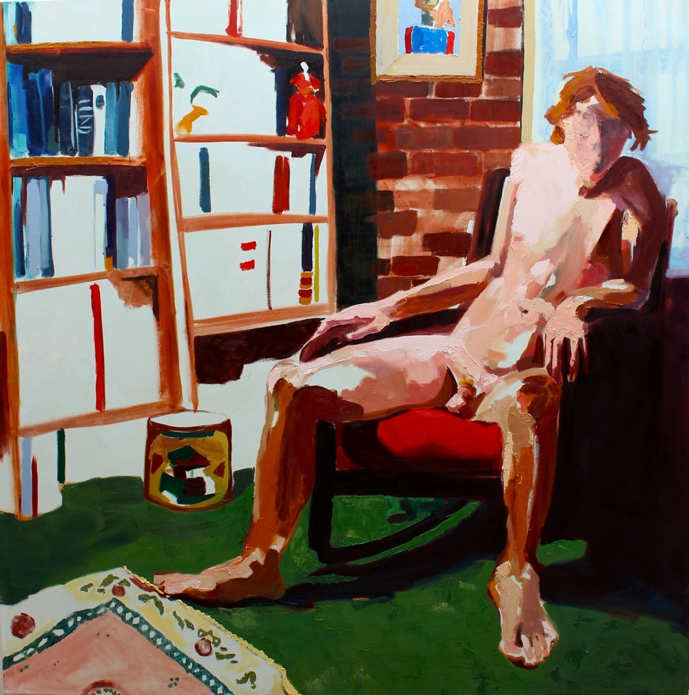 Seated Nude.