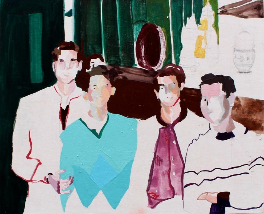 Boys in a Bar