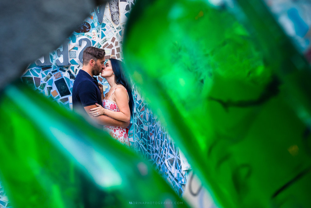 Magic Garden & Tattooed Mom's Engagement