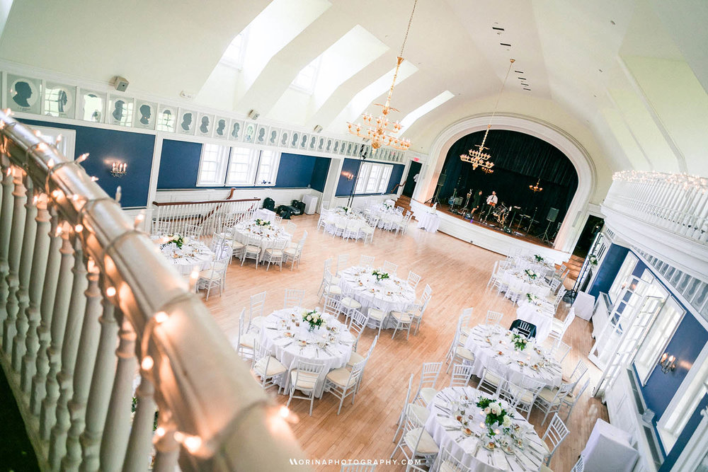 Light and Airy themed Germantown Cricket Club Venue