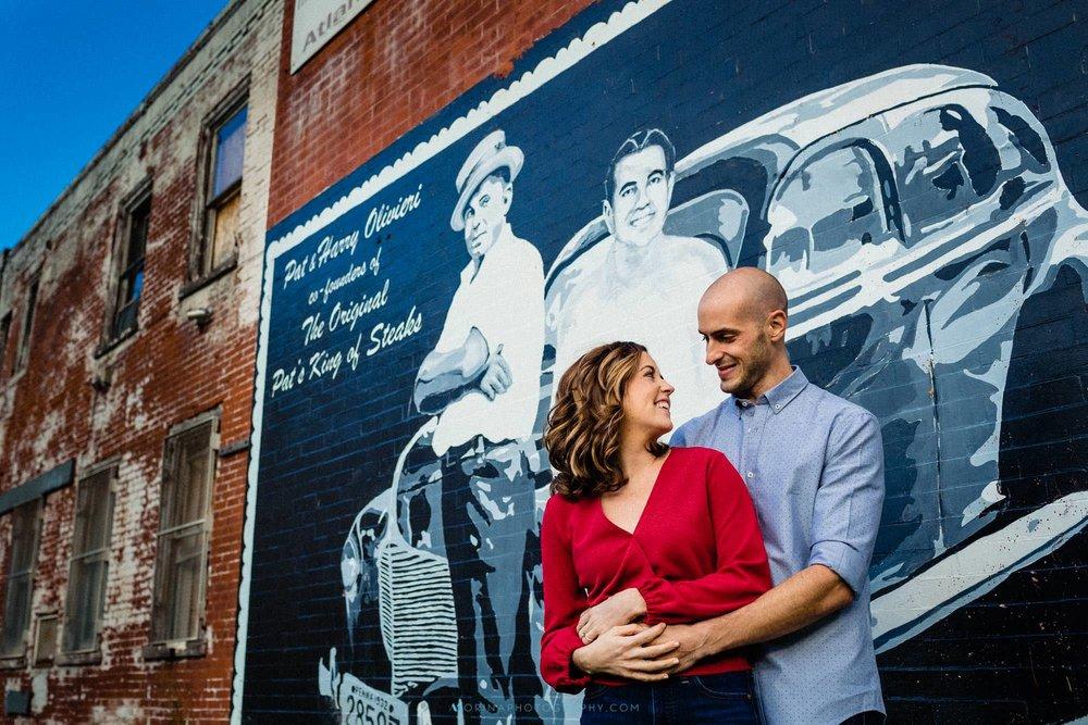 Elizabeth & Vincent Engagement at Italian Market 0004.jpg