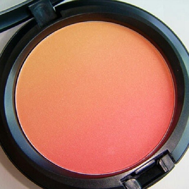 MAC Ripe Peach Blush for stage…yes please!!!