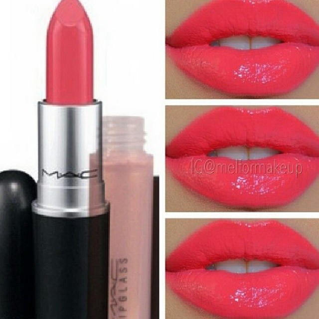 "MAC ""watch me simmer"" lip color GORGE for stage!!!"