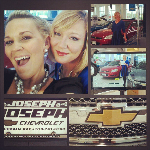Shooting our FAV Chevrolet Spokesperson! #chevycommercial #makeup #production