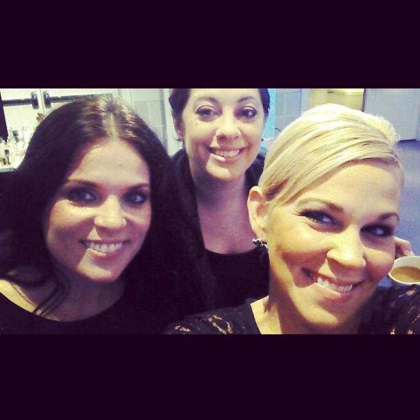 Fearsome Artist Trio!!! #lovemyjob #watchoutnow #glamitup