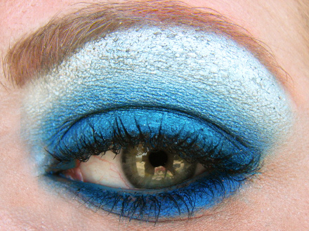 "Rescue your look from the ""Winter Blues""…..try a bold cobalt blue eye shadow with a nude lip or a nude eye and magenta lip.  Bold, Beautiful and Cool, just like the weather.   Cobalt Blue Eye Tip:   - Use a shadow base or black eyeliner all over the eye to make the color more bold.   - Great blue colors to try are: Plumage by MAC, Celestial Blue by Ben Nye, HIP Studio Secrets by Loreal in Showy   - Skip the actual liner on top to ""line the eye"" as you normally would, let the statement of the shadow be the statement.   - Try using the shadow underneath the eye instead of a dark liner to keep the look continuous on the top and bottom.  Use a white liner to rim the under eye lid to brighten the eye.   Tips for Magenta Lips:   - Keep the eye very basic. Light shadow, no liner and mascara   - Prime the lip area with a concealer and pat with translucent powder.   - Line the lips with a slightly darker liner and fill in the whole lip. Again, set with powder.  This will keep it on longer.   - Apply lip color and blot…touch the center of the bottom lip with a shiny gloss to make the lip appear fuller.   - Tap with the index finger the lip color and lightly pat a little color on apples of cheeks to bring the color slightly into the face.   - Great colors to try: PK359 by Shu Uemura, Rouge Volupte formula in Provocative Pink by YSL, or Revlon #745 in Super Lustrous formula"