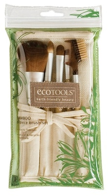 I think I might have blogged about this before but these brushes are so awesome….its worth another post.  They are called Eco Tools.  You can buy a 6 piece brush set at you local Walgreens or Target for 13.00! They are made from natural and recycled material.  Great for the user and for the enviornment!!! Give them a shot!