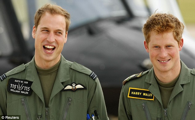 louisepalanker :   Royal brothers in uniforms with sweet name tags.     Thanks for the pic! I am obsessed with Prince Harry!