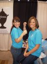 "Bridal Rama was a success this weekend! I am so lucky to have pretty girlfriends that came and helped out! It was a great time.  I hope Brides found what they were looking for.  I know planning a wedding can be so stressful! It is my job to make it easier through the ""Glossa Experience""!!!! Thanks friends!   XOXO   Lyndsey"