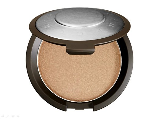"We love Champagne Pop because it is a warmer tone, so it doesn't look ""frosty"""