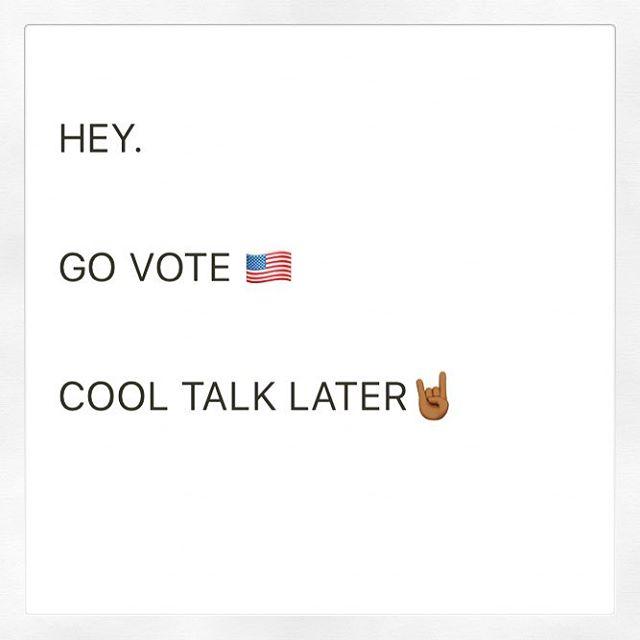 #vote #vote2017 #votelocal #nyc #brooklyn #usa #everywhere #allofyou #govote #govotenow #govotenowplease