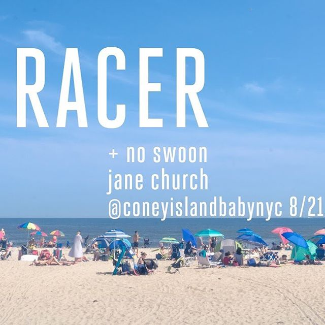 RACER AT CONEYISLANDBABY SOON! 169 Ave A 8/21