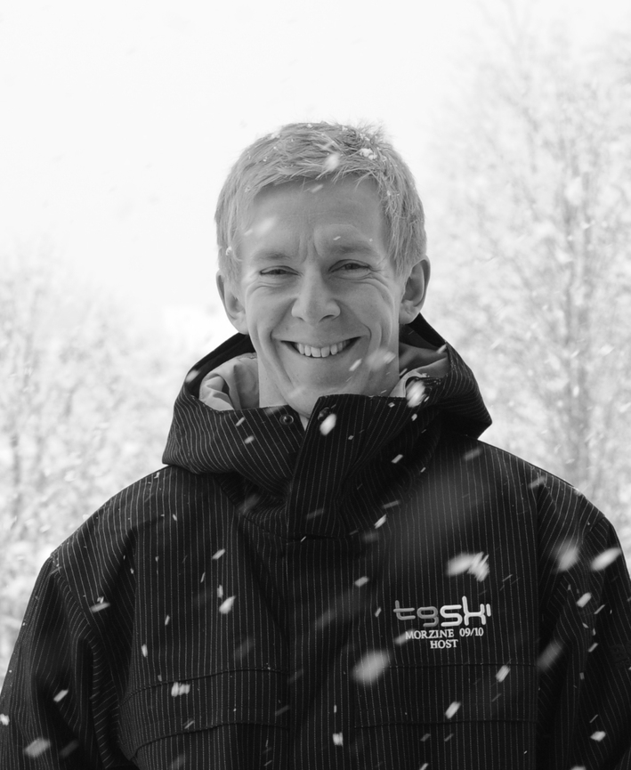 Tom Marley-Shaw   Director & MD  Tom Marley-Shaw is at the centre of everything TG Ski. His experience with many of the leading brands in the Ski Chalet industry have helped shape TG Ski into the business that it is today. His time invested in recruiting the right people for the brand is integral to the company. When he is not overseeing the running of the business; he can be found on a bike on the roads of Cheshire or the infamous climbs of the alps.