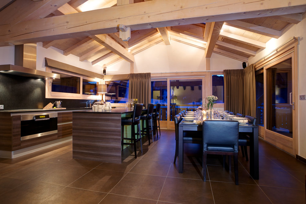 Chalet Bouquetin Kitchen and Dining Room.jpg