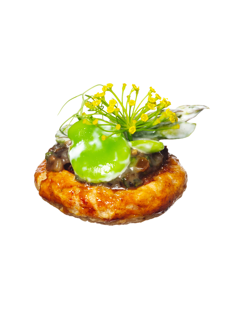 greenmarket galette canapés