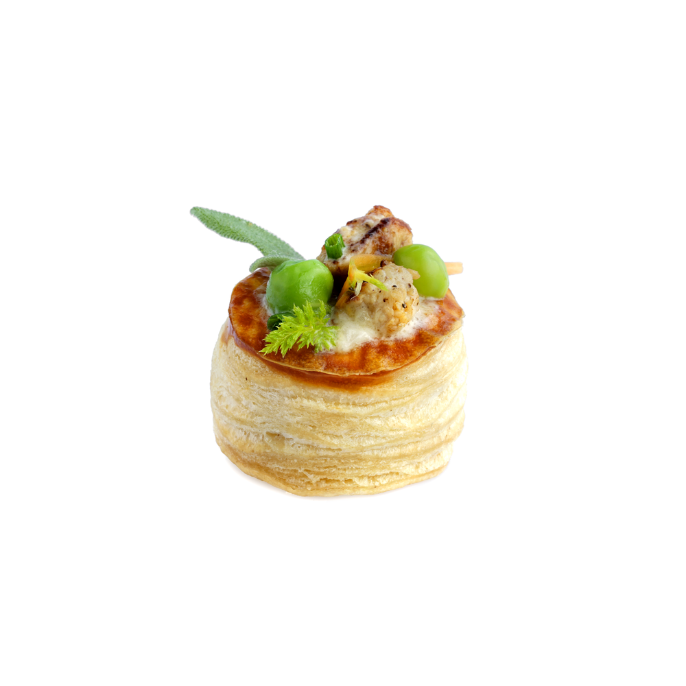 Chicken Pot Pie canapés