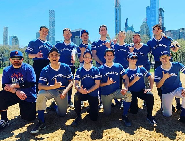 Bombers Opening Day was yesterday.  Next Tuesday can't come soon enough. . . . . 📷: @marnschupip4  #bitenyc #catering #softball #bombers #centralpark #heckscher #companyteam #community #smash #tate #taterbombs #pure #cruise