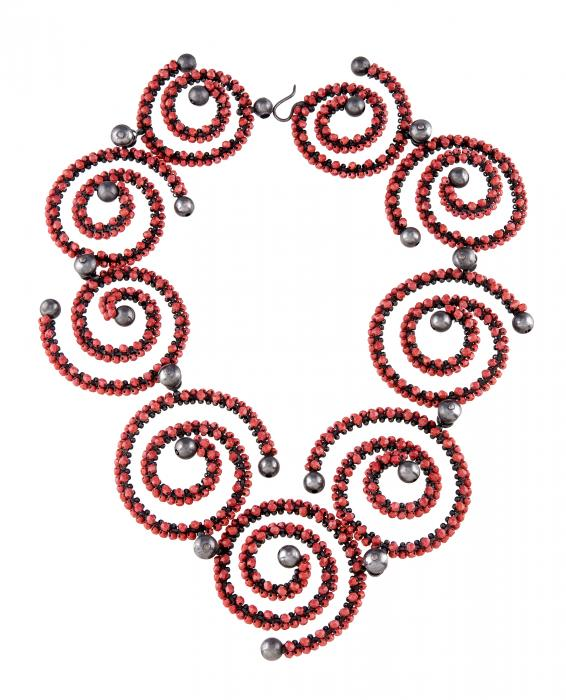 Cinnabar Spirals Necklace on white ground.jpg
