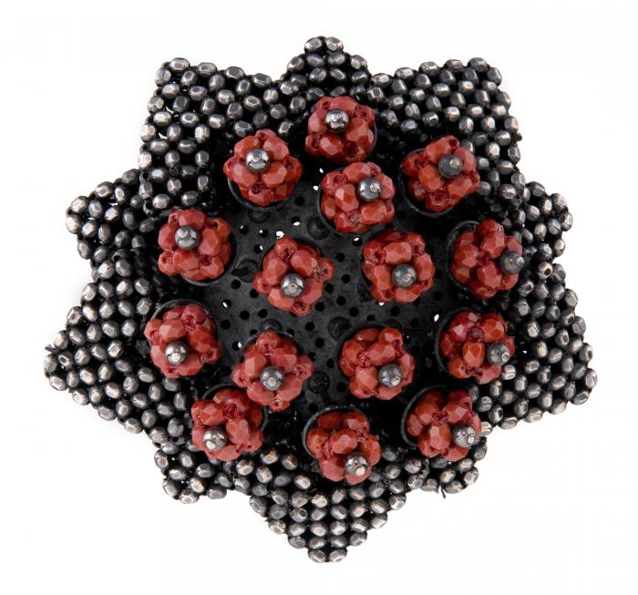 Cinnabar Lotus Brooch on white ground.jpg