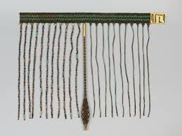 The apron of Senebtisi at Lisht, ca. 1850-1775 BCE, preserved at the Metropolitan Museum of Art as Accession No.  08.200.29a, d–f. Image courtesy Metropolitan Museum of Art, New York.