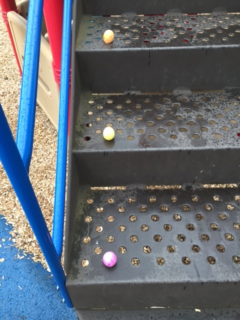 Easter Eggs at playground, March 27, 2016.jpg