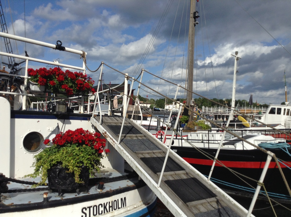 And because Stockholm was built on an archipelago of fourteen islands, it's got loads of boats too.