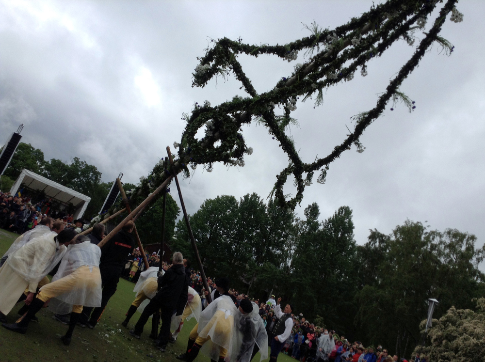 Bizarre Fertility Festival already in progress (Skansen, Stockholm)