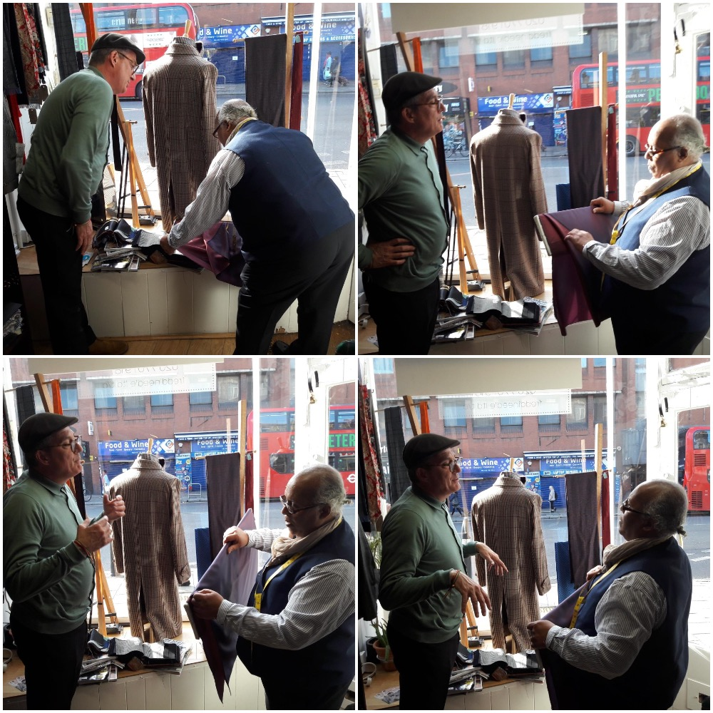 Good to see Toby yesterday for a consultation on a suit he is looking to get made in 2019.  Call me on 020 7701 9181 to join in. http://www.threadneedlemantailors.co.uk