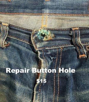 Repair Button Hole