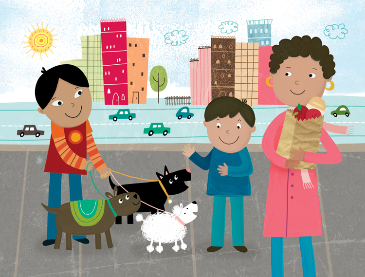 Oxford University Press - 'Around the Neighborhood' Storybook