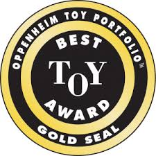 SUNNY & STORMY DAY AWARDED AN OPPENHEIM TOY PORTFOLIO GOLD SEAL AWARD   Oppenheim Toy Portfolio Gold Seal Award: Given to outstanding new products that enhance the lives of children. Products listed with four play balls have received a Gold Seal Award.