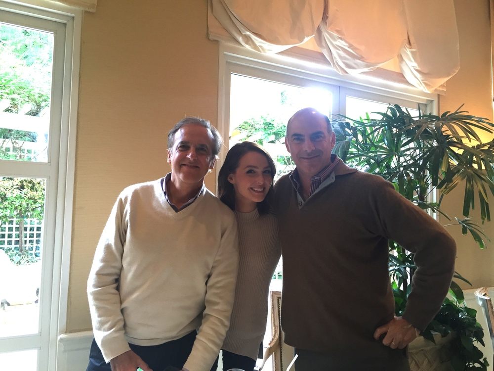 Paco, Camilla and Ricky
