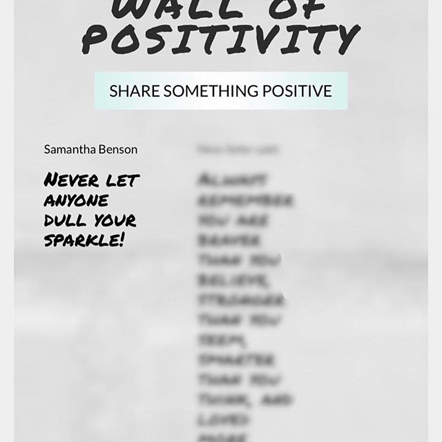 Positivity is 🗝. Make someone's day by leaving an uplifting note on our Positivity Wall today! Visit the link in our bio for more.