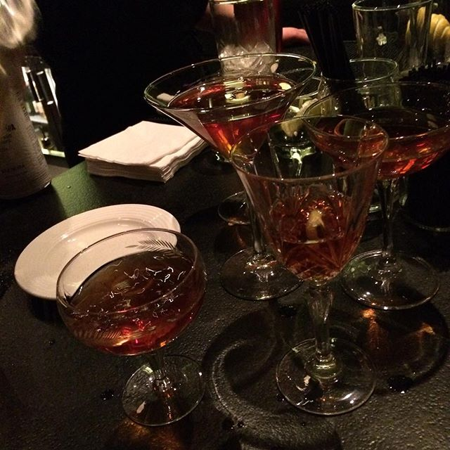 Robbie Burns Cocktail #yummy #burnsnight