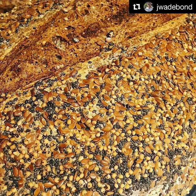 #Repost @jwadebond with @repostapp ・・・ Seeded Seed Bread with Seeds. @bondirconcord #rye #naturallevain #concordma